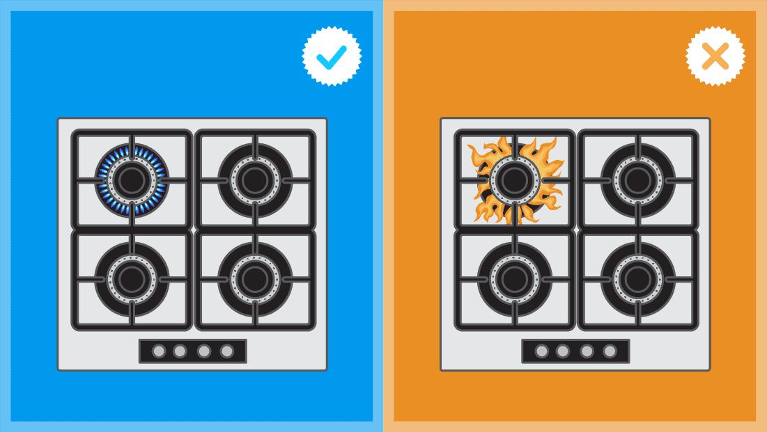 Comment déboucher une cuisinière à gaz ?